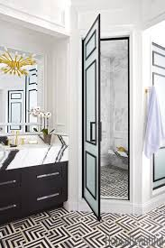 modern tile floor. Black And White Graphic Print Tile Floor Trends 2018 2019 Greek Key  Marble Contemporary Modern F