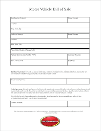 Dmv Printable Bill Of Sale Bill Of Sale Form Free Template New Beautiful Lovely Forms Luxury
