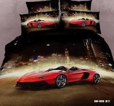 3d race cars bedding sets california king queen size quilt duvet cover designer fitted bed in a bag sheets bedspread bedroom linen super king bedding full