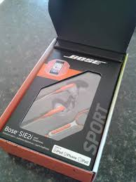bose headphones sport box. don\u0027t you love the orange? bose headphones sport box