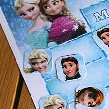 Frozen Reward Chart