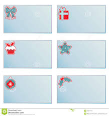 Christmas Note Template Christmas Note Cards Stock Vector Illustration Of Illustration
