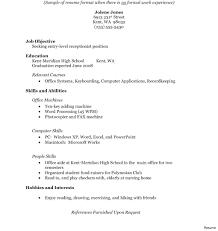 High School Student Resume Templates Microsoft Word High School Graduate Resume Template Microsoft Word 37