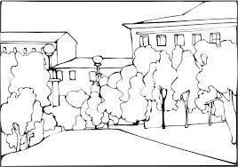Disegno 08 Disegni Da Colorare Per Adulti E Ragazzi Con Paesaggi Da
