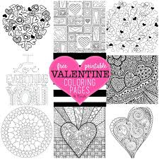 Small Picture Free Valentine Coloring Pages U Create