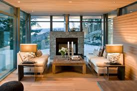 Small Picture Elegant Nice Interior Living Room Of The Modern Cabin Design That