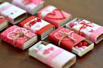 Cajitas decoradas para san valentin