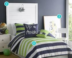 Boys room lime green sheets blue stripe | navy and green 1 navy blue white  and lime green | Boys' Rooms | Pinterest | Room, Bedrooms and Decorating