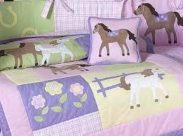 Nursery Sweet Jojo Designs Bedding Sets  Pretty Pony Horse Western Baby Girl 9pc Crib