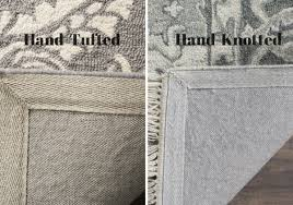 hand tufted vs hand knotted