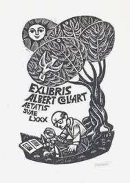 ex libris for albert collart