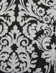 get ations essence black and white damask fabric shower curtain