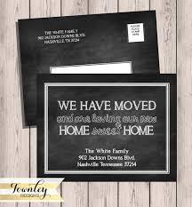 Change Of Address Template Free Groovy Address Card Template Free Change Address Template As Wells