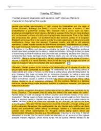 hamlet presents indecision decisive craft discuss hamlets page 1