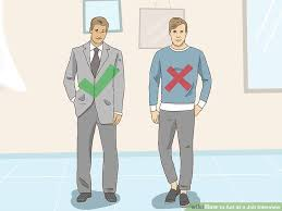 Professional Interview 3 Ways To Act At A Job Interview Wikihow