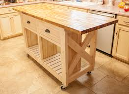 Rolling Kitchen Island Table Rolling Kitchen Island With Butcher Block Top Best Kitchen