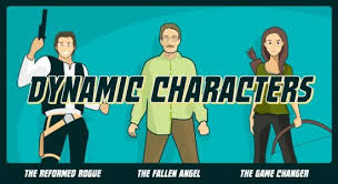 dynamic characters header