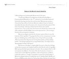 essays on importance of education co essays