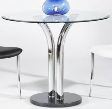 Metal Glass Dining Table Fancy Glass Dining Table Base To Energize The Glass Dining Room