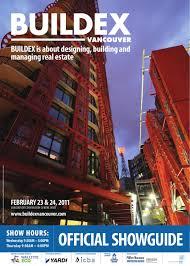 Brett Sichello Design Buildex Vancouver 2011 Showguide By Informa Vancouver Issuu
