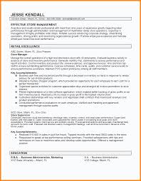 Sample Retail Store Manager Resume Sample Pilot Resume Zoning