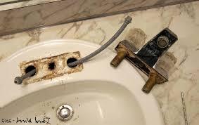 Diy Bathroom Faucet Amazing Diy Bathroom Faucet Installation Step Step How To Moen
