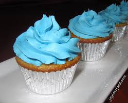 Vanilla Cupcakes With Buttercream Frosting Joy Love Food