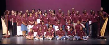AfriClassical: Myrtle Hart Society: Urban Youth Harp Ensemble Serves  At-Risk Atlanta Students