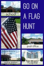 go on a flag hunt for pre