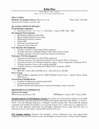 Software Engineer Resume Sample 100 New Image Of software Engineer Resume format for Experienced 78