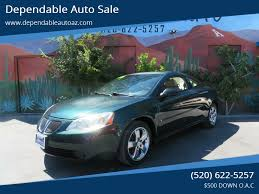 2006 pontiac g6 at dependable auto in tucson az