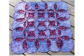 Free Rag Quilt Patterns to Help You Make Cuddly Quilts & Cathedral Windows Rag Quilt Pattern Adamdwight.com