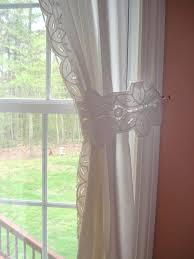 white battenburg lace valance white lace tie backs 6 x by valance curtains ideas
