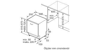 SIEMENS - SN615X00DT - Tam Ankastre Bulaşık Makinesi