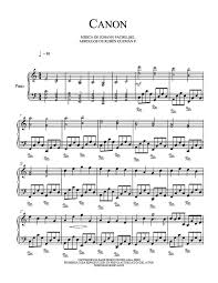pachelbel canon violin sheet music canon in c d free sheet music by pachelbel pianoshelf