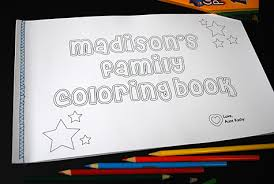 Small Picture Family coloring book from photos Merriment Design