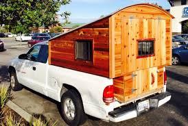Homemade Wooden Pickup Truck Camper Shell | The Shelter Blog