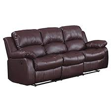 leather couches. Brilliant Leather Homelegance Double Reclining Sofa Brown Bonded Leather Intended Couches S