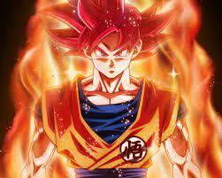 35+] Goku Red Wallpapers on WallpaperSafari