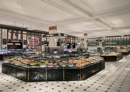 Harrods Design Studio Harrods Fresh Market Hall David Collins Studio