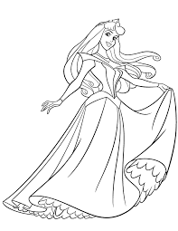 Small Picture Aurora Coloring Pages fablesfromthefriendscom
