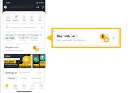 credit debit card on binance app