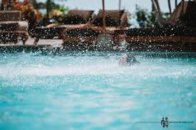 pool water splash. Water Splash From Camille Jump To The Pool