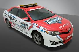 toyota new car release 20122012 Toyota Camry Official Pace Car of Daytona 500