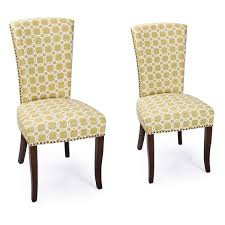 Side Chairs For Living Room Joveco Green Floral Living Room Side Chairs Dining Chair With