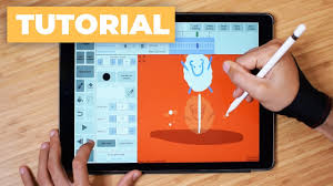 how to draw a frame by frame animation with ipad pro