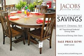 full size of bassett furniture industries coffee table round tables vintage indoor transitional pedestal set marvellous