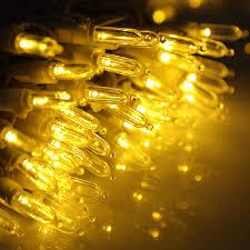 Holiday Living Gold Mini Lights 100 Count White Led Christmas Lights Bigit Karikaturize Com