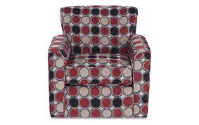 swivel glider chair. Mercury Compass Scarlet Swivel Glider Chair