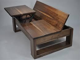 custom lift up coffee table ideas diy